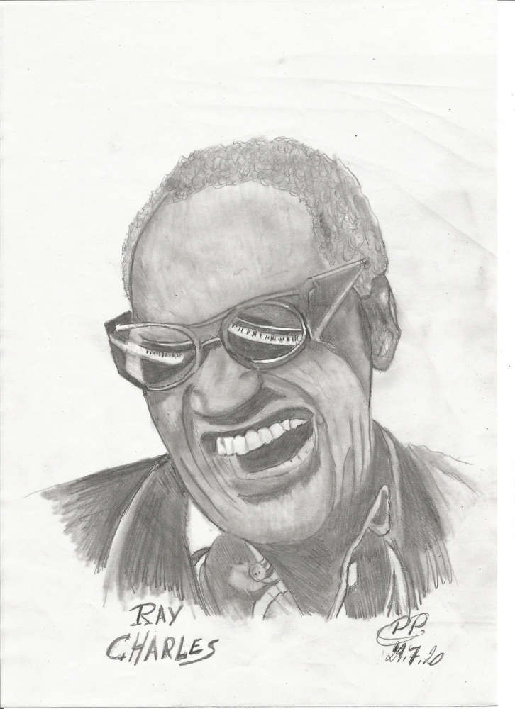 Ray Charles by Patoux